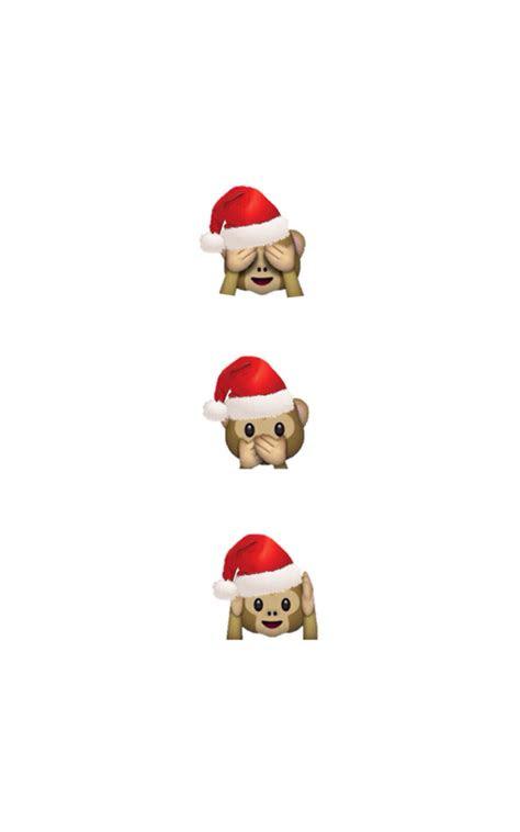 emoji christmas wallpaper shared