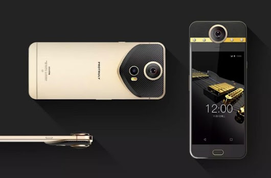 This Android Phone has embedded diamonds and a 360-degree camera – Getting Geek