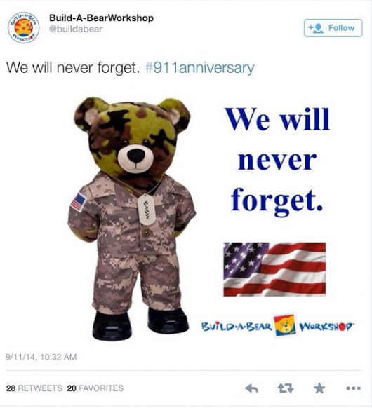 This is how companies should commemorate the anniversary of 9/11