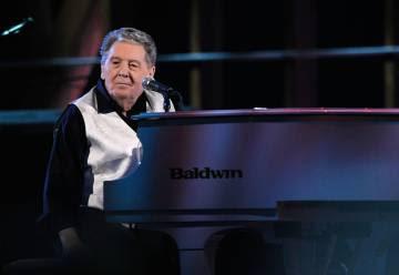 Jerry Lee Lewis durante una actuación en el Madison Square Garden en 2009. El músico tiene actualmente