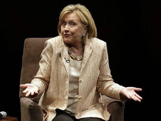 The Liar lies again: Hillary Clinton claims not to know the DNC funded the Russia Dossier. – NewsParticipation