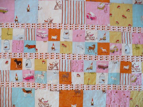 Quilted Heather Ross