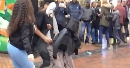 Muslim teenager bombarded with death threats and abuse after she was filmed twerking in hijab