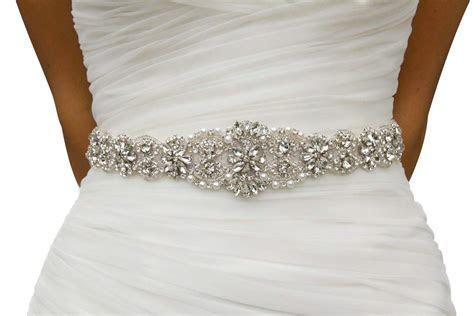 Rhinestone Belts for Dresses: Amazon.com