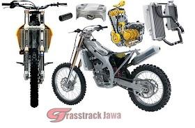 Sketsa Motor Trail