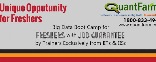Big Data & Hadoop Training Course - New Batch