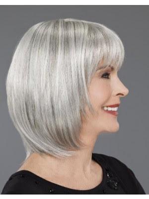 Spitzenfront Mittellange Bob Haar Perücke Für Frauen über 50 Kaufen