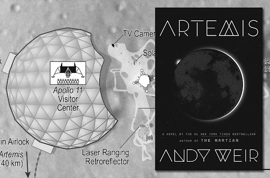 Apollo in 'Artemis': Author Andy Weir sets new book at site of first moon landing | collectSPACE