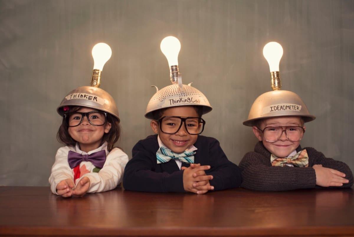 creatividad en los nenes