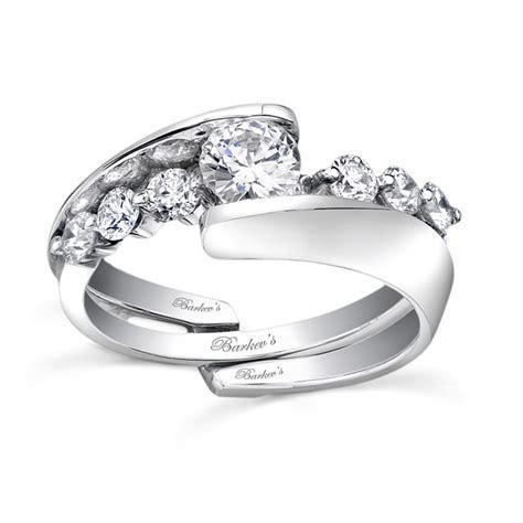 Barkev's Diamond Engagement Set 7518SW