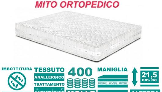 offerta tv eminflex materasso mito ortopedico a 79 euro