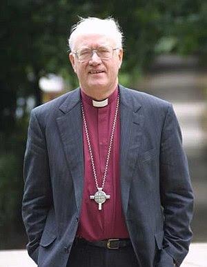 English: former Archbishop of Canterbury Georg...