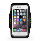 LENTION Sporty Series Armband, Water Resistant, Compatible with 5.1 to 6.2 inch Phones (18.5 inch, Black & Green)