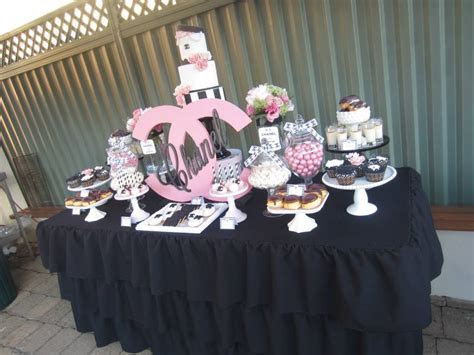 Chanel Sweet Sixteen   Baby Shower Ideas   Themes   Games