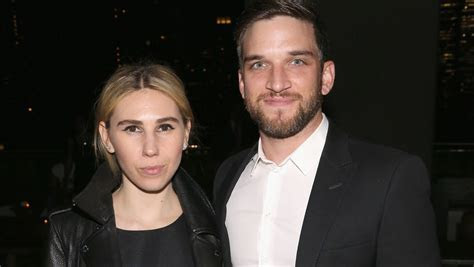 """Girls'"" Zosia Mamet Wore a Black Wedding Dress to Marry"