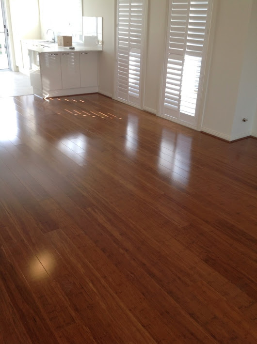Bamboo Floors Are A Reasonable Flooring Material As an Alternative To Wood
