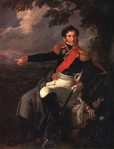 Portrait of the Prince P. I. Bagration - Vasily Tropinin