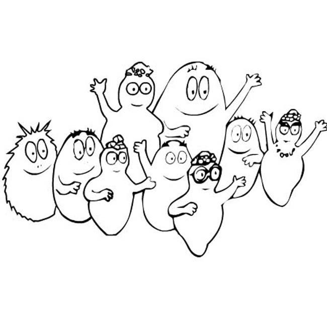 Disegni Da Colorare Barbapapa.Disegni Da Colorare Barbapapa Per Bambini Coloratutto Website
