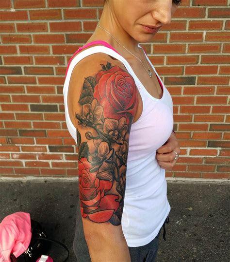 flower sleeve tattoo designs ideas design trends