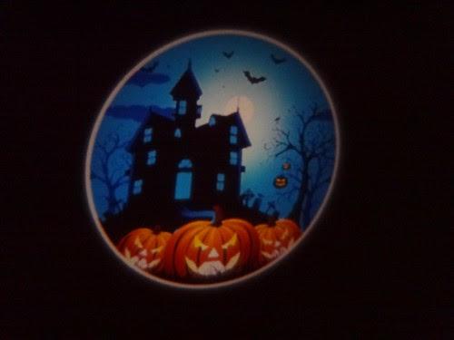 Halloween nightlight projection