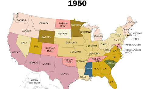 160 years of US immigration, mapped