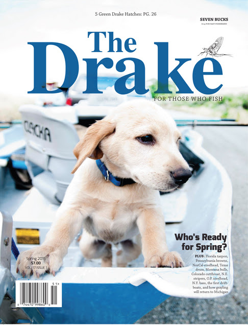 Trayser's Drake Magazine Cover | Off the Grid Studios
