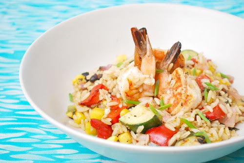 Island Shrimp Rice
