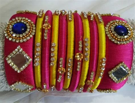15 Latest Collection of Silk Thread Bangles in India 2019
