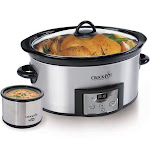 Crock-Pot SCCPVC605-S Slow Cooker - 6 qt - Stainless Steel
