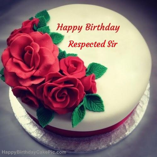 Happy Birthday Ganesh Sir Cake Image Pink Birthday Cake For Sir
