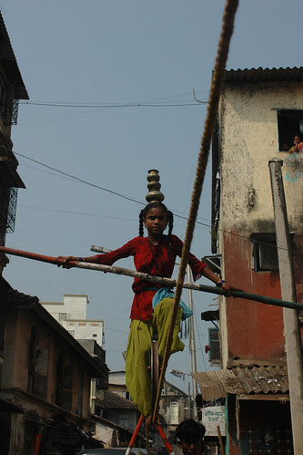 the girl child was born on a tightrope by firoze shakir photographerno1