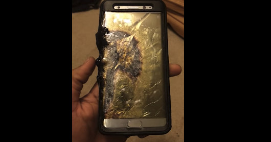 Exploding Samsung Galaxy Note7 reportedly injures young boy
