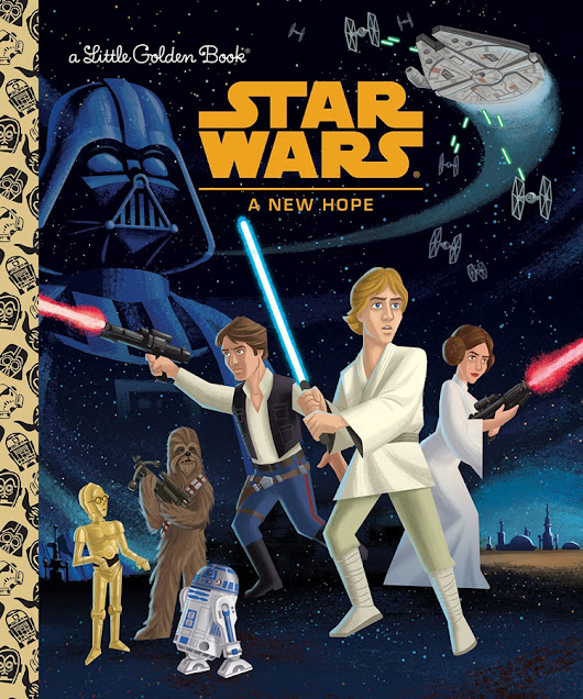 The First Six 'Star Wars' Films Being Released as Little Golden Books by Random House