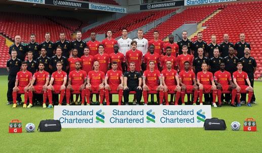 Download the brand new LFC squad photo - Liverpool FC