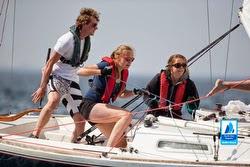 J/22 women sailing off The Hauge, The Netherlands