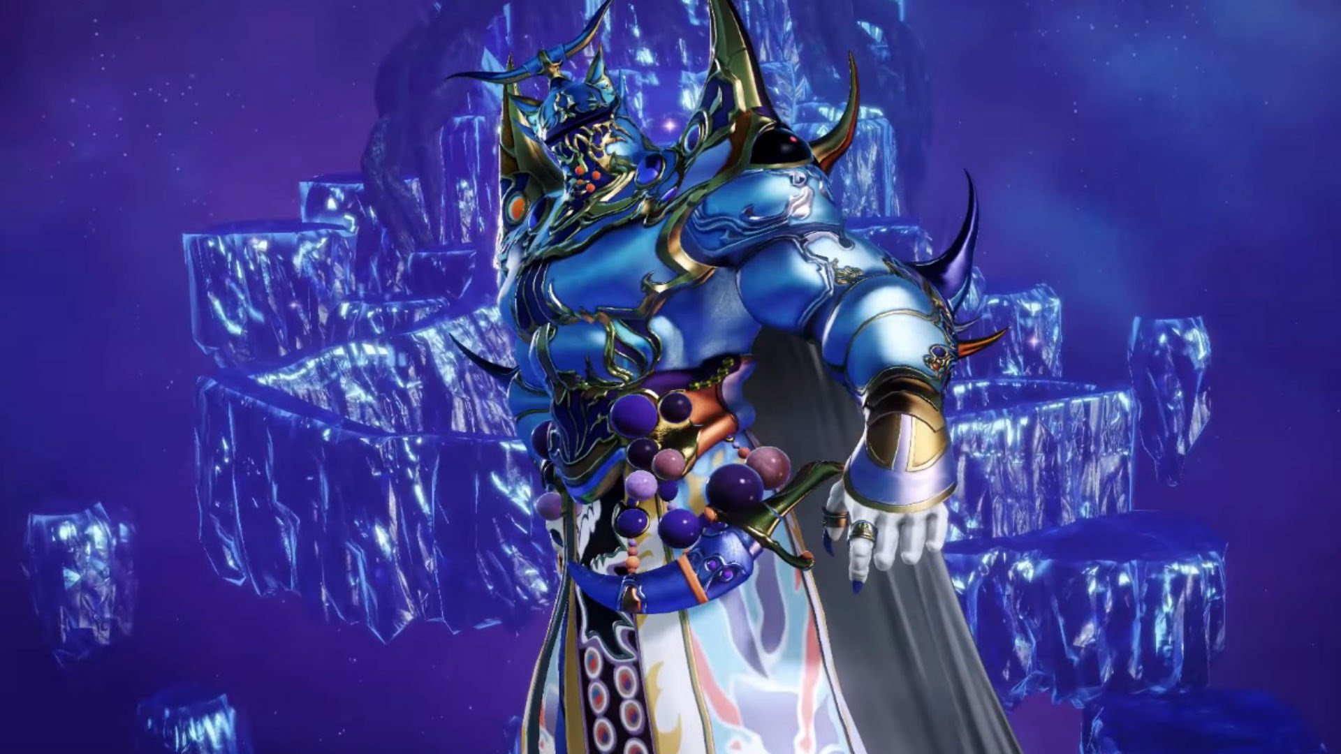 Final Fantasy V's Exdeath gon' give it to ya in Dissidia Final Fantasy arcade screenshot
