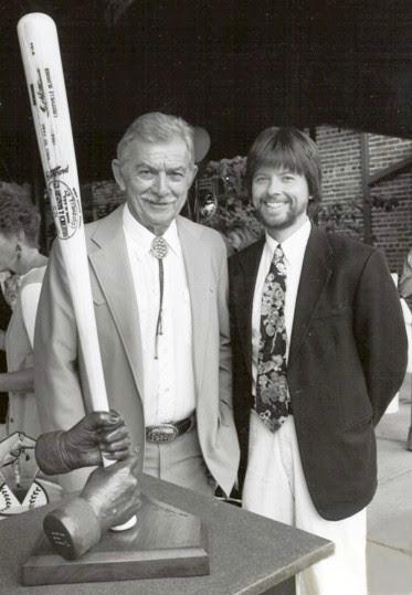 Ken Burns with Bat