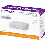 NETGEAR GS205 Unmanaged Switch - 5 Ethernet Ports