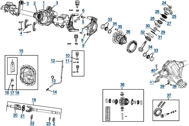 Wiring Diagram: 12 2004 Jeep Grand Cherokee Front End Diagram