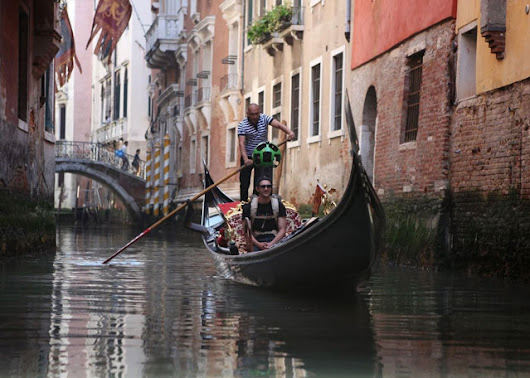 Google Brings Street View to the Canals of Venice