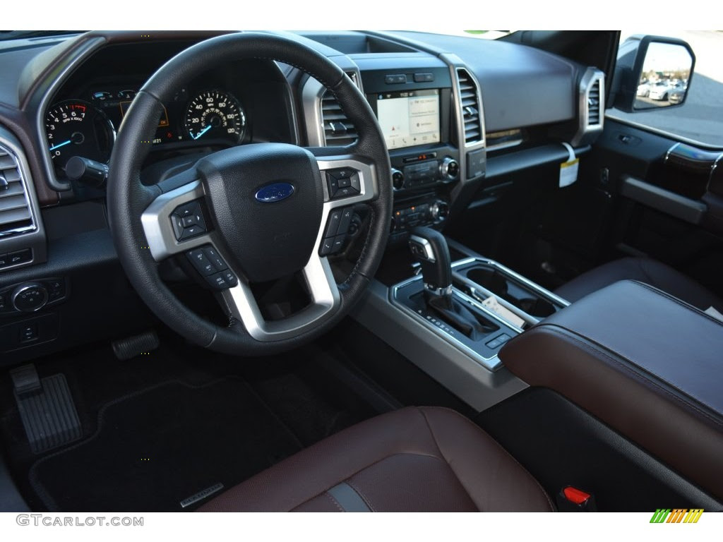 Platinum Brunello Interior 2016 Ford F150 Platinum Supercrew