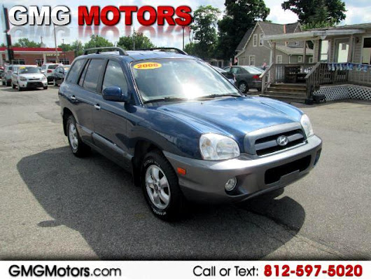 Buy Here Pay Here 2006 Hyundai Santa Fe GLS 3.5L 4WD for Sale in Morgantown IN 46160 GMG Motors Morgantown