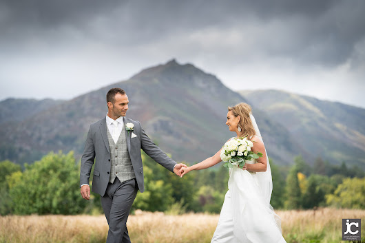 Ashleigh and Nicky's wedding in Grasmere - Photo Lake District