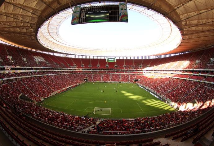 Flamengo x Shakhtar Donetsk no Mané Garrincha, em Brasília (Foto: Gilvan de Souza / Flamengo)