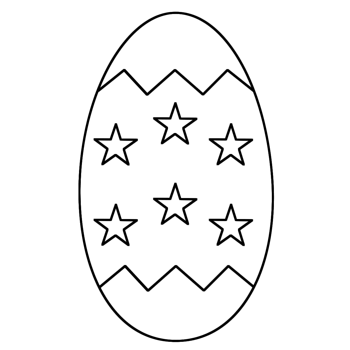 Free Printable Blank Easter Eggs - ClipArt Best