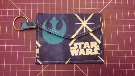 Glow In The Dark Lightsabers Coin Purse/Pouch Wallet