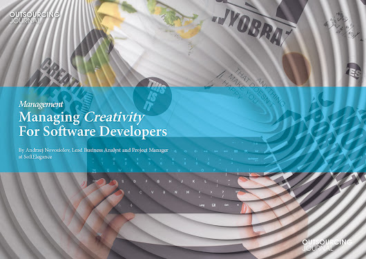 Managing  Creativity  For Software  Developers | Outsourcing Journal