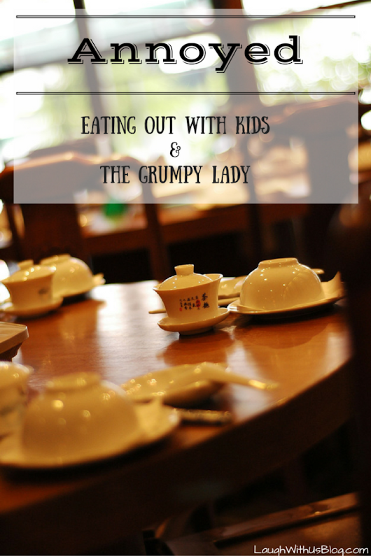 Eating out with kids - Laugh With Us Blog