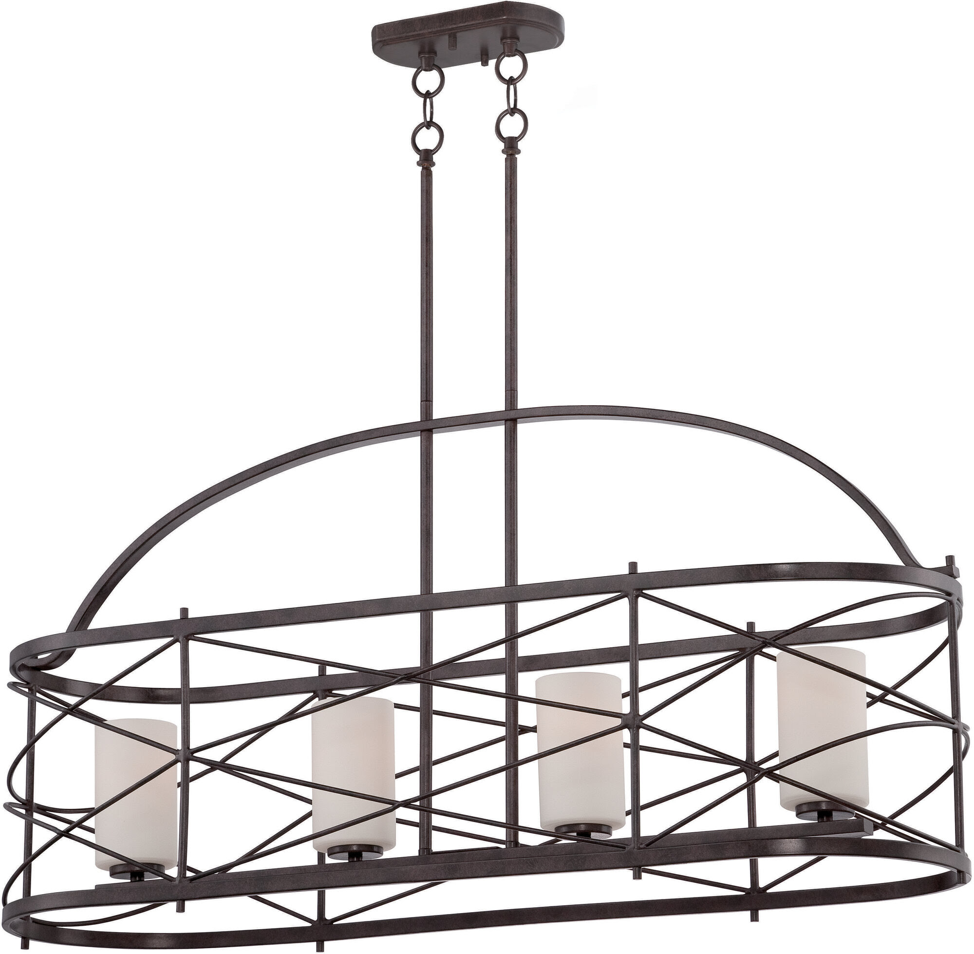 Nuvo Lighting Ginger 4 Light Kitchen Island Pendant  eBay