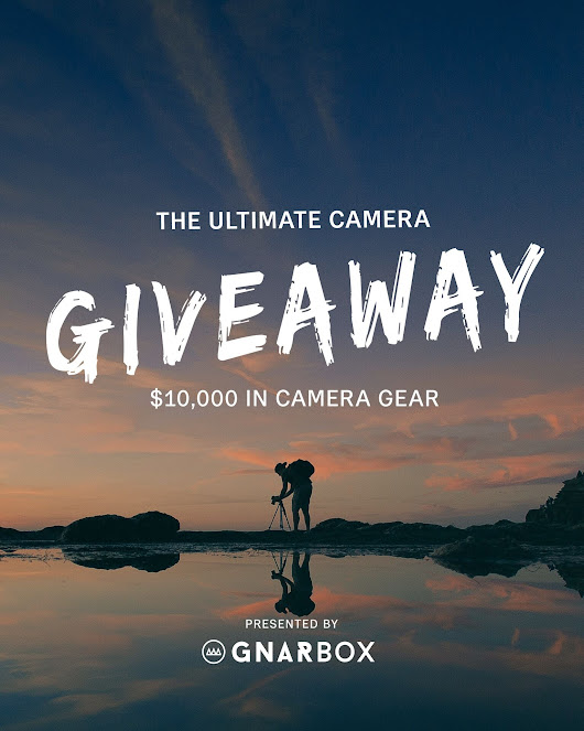 THE ULTIMATE CAMERA GIVEAWAY